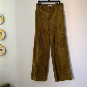 Anthropologie Wide-Wale Corduroy Trousers